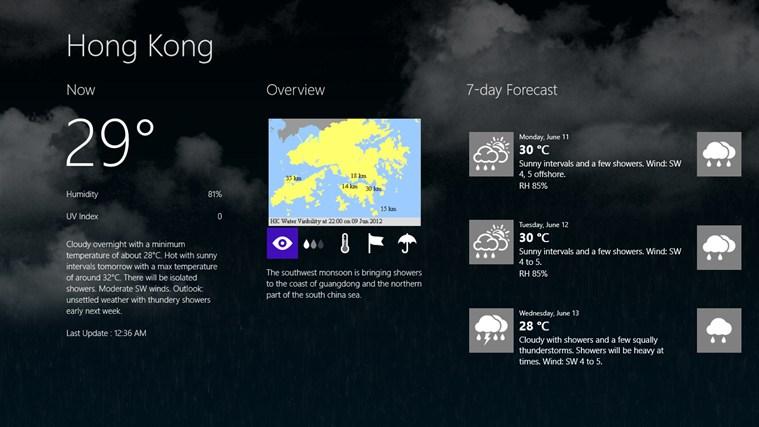 Hong Kong Weather weather