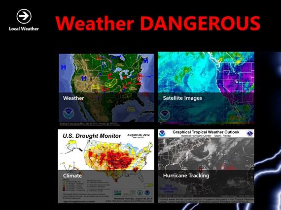 Weather DANGEROUS weather