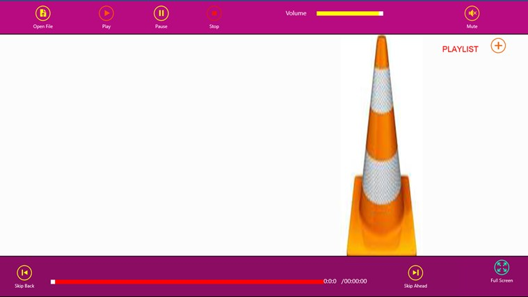 VLC 5.0 Media Player player simple
