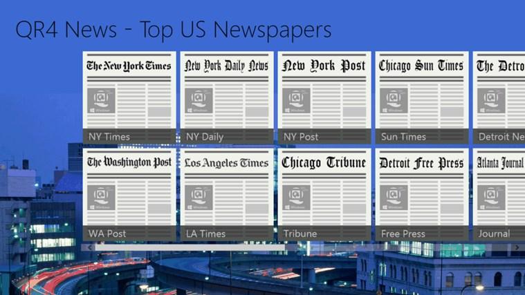 QR4 News - Top US Newspapers tribune world