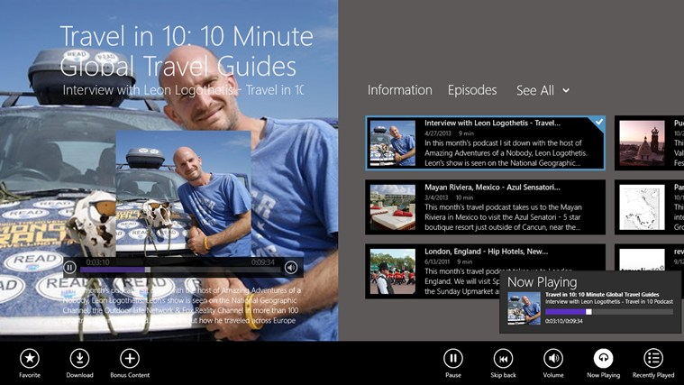 Travel in 10: 10 Minute Global Travel Guides