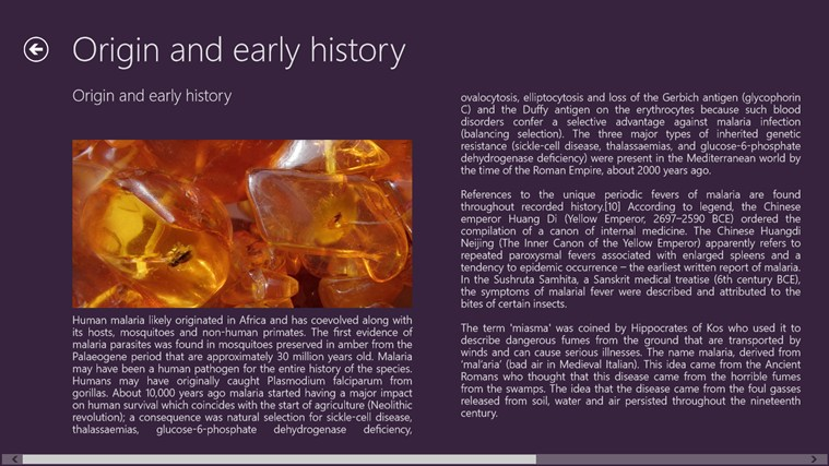 a history of malaria and other diseases caused by the mosquito However, as the theories regarding the origin of malaria in the americas show, humans (and other animals) have in fact been disseminating disease-causing organisms to new places since the very dawn of our evolutionary history.