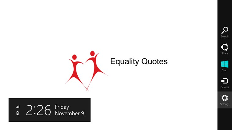 Quotes on Equality