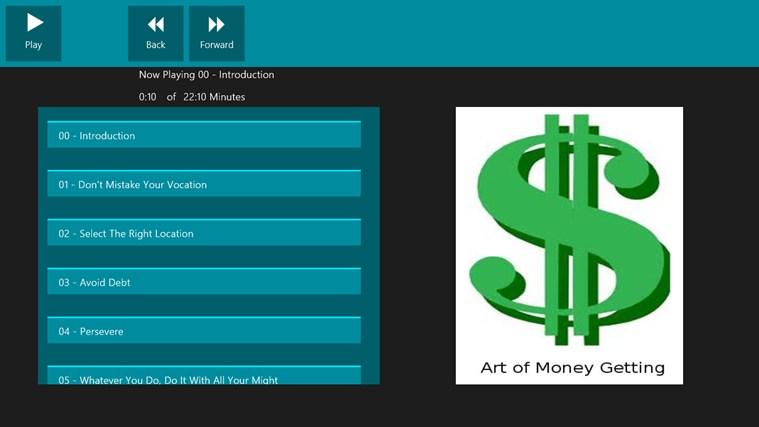 Art of Money Getting money tutorial