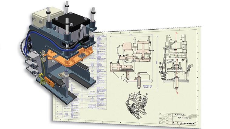 AutoCAD Mechanical 2011 Tutorial - Complete mechanical color code