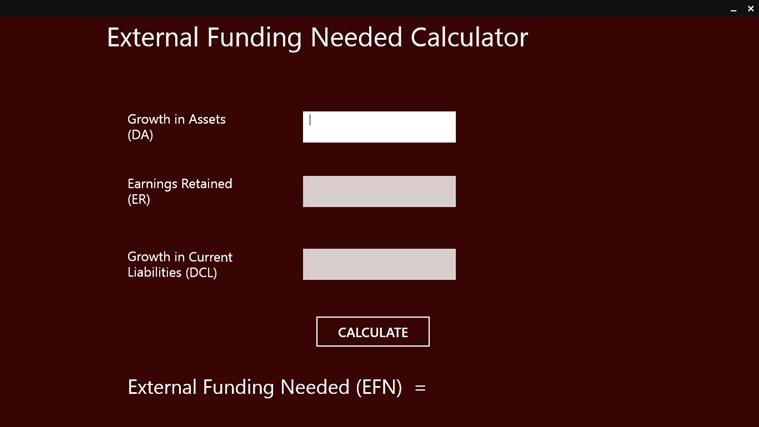 EFN Calculation App