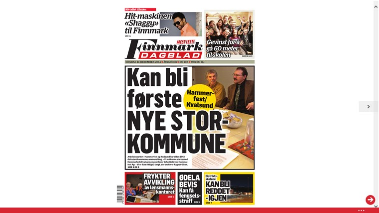 Finnmark Dagblad finnmark world