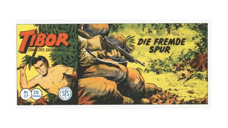 Tibor Comic - Band 27