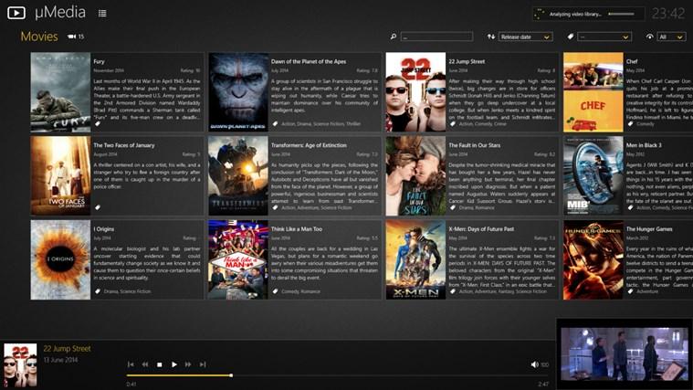 µMedia dvd media