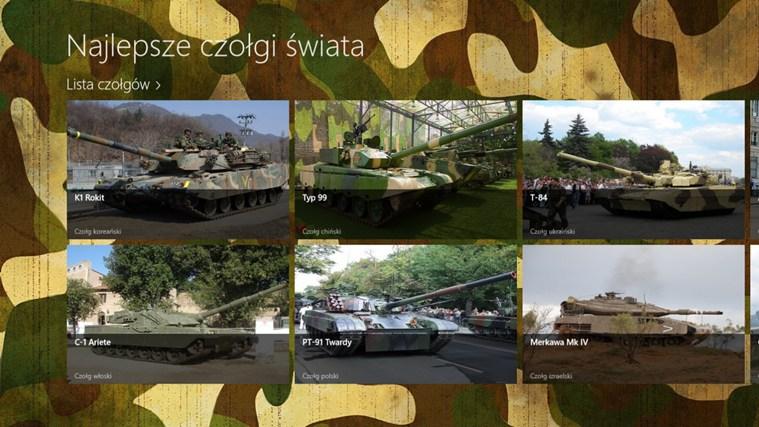 Najlepsze czołgi świata