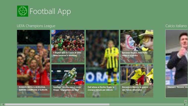 Football's App football marcus
