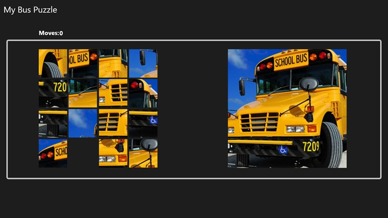 My Bus Puzzle puzzle
