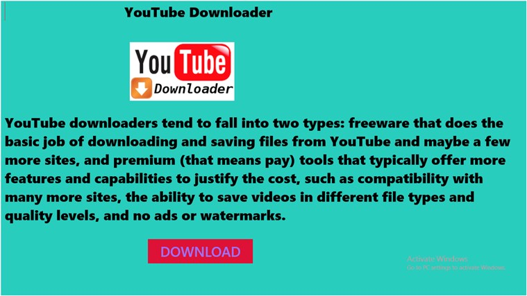 You Tube Downloader