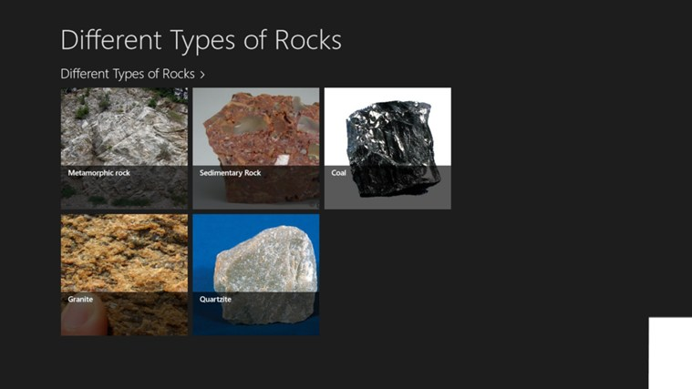 types of rocks essay Rock or stone is a natural substance, a solid aggregate of one or more minerals  or mineraloids for example, granite, a common rock, is a combination of the.