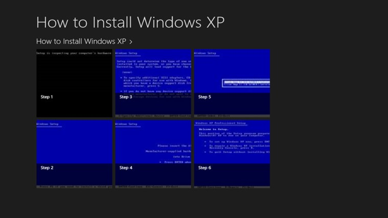 How to install windows xp windows app - Factors to consider when installing windows ...