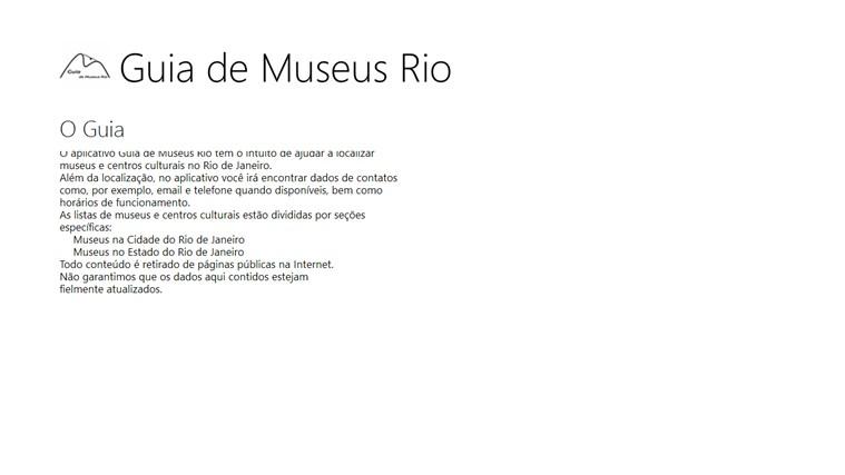 Guia de Museus Rio