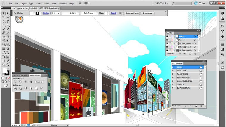 illustrator Cs5 Tutorial Training - Completed money tutorial