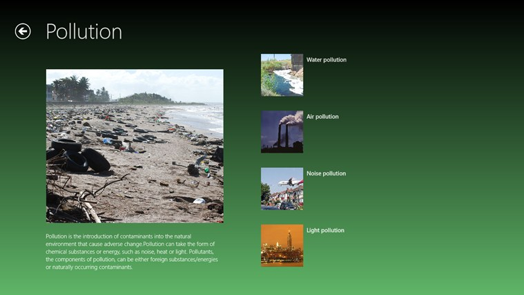 different types of pollution essay Water pollution, like other types of pollution result when an overwhelming amount of waste comes from different sources of pollutant which harmfully environmental pollution is one of the most common essay topics essay on pollution can be quite a challenging academic assignment for some.