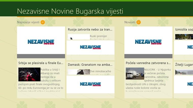 Nezavisne Novine Bugarska vijesti vijesti