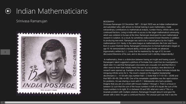 greatest mathematicians and their work Top 10 indian mathematicians & their srinivasa ramanujan was one of india's greatest mathematical mathematician and physicist who did fundamental work in.