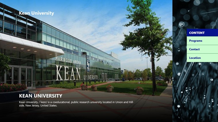 an introduction to the kean university Frequently asked questions a no the only prerequisite course you must complete at kean university is introduction to occupational therapy.