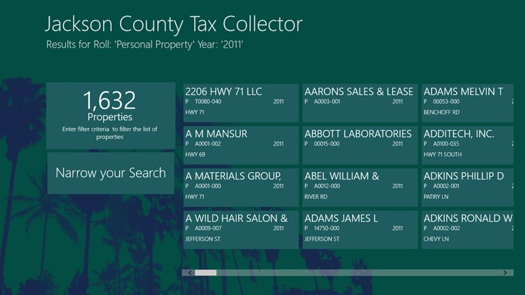 Palm Beach County Tax Collector Property Search