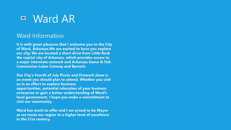 The Best of Ward Arkansas App