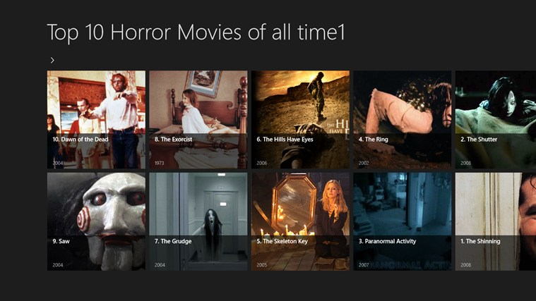 100 best horror films of all time best scary movies