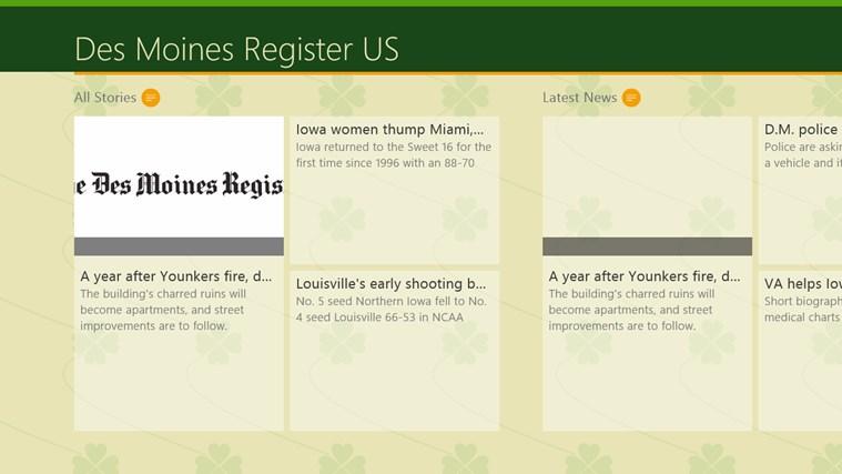 Des Moines Register US