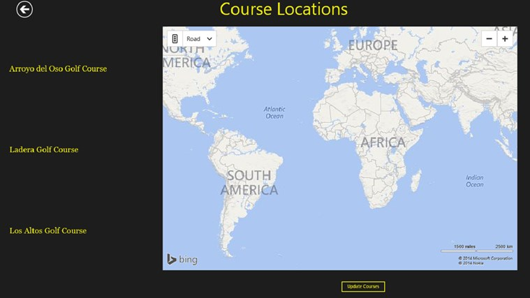 Golf Course Maps of Albuquerque