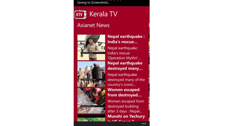 Kerala TV channels youtube