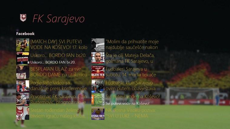 FK Sarajevo vijesti
