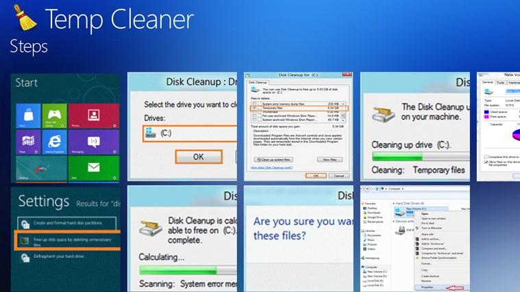 Temp Cleaner