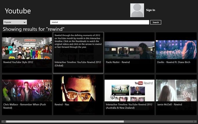 The Youtube App framelap youtube