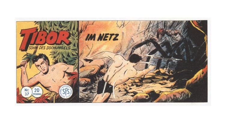 Tibor Comic - Band 37