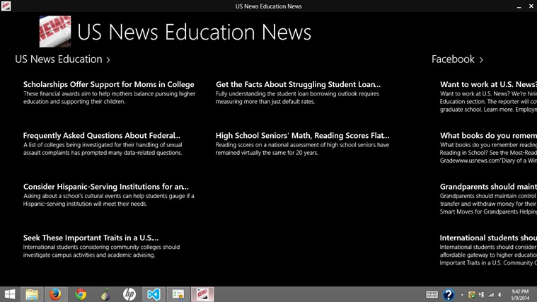 US News Education News