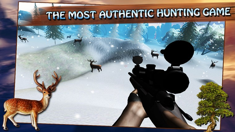Snow Deer Hunter