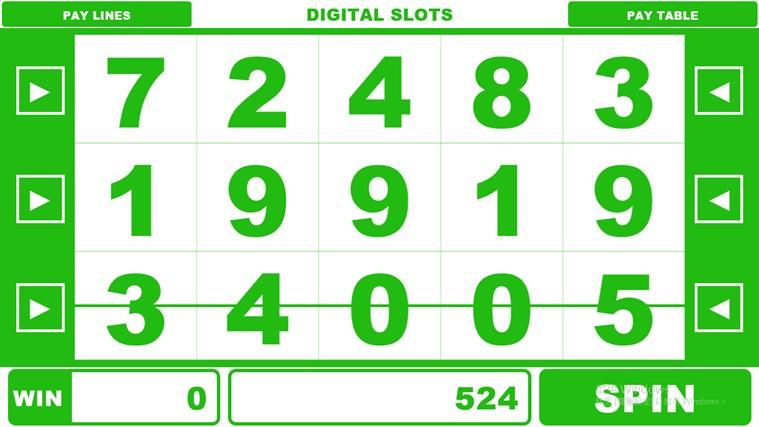 Digital Slots Win