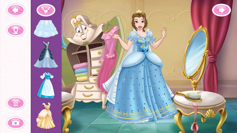 Disney Princess Wedding Day Dress Up Games : Disney princess dress up sticker book windows app lisisoft