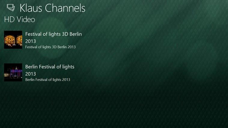 Klaus Channels channels