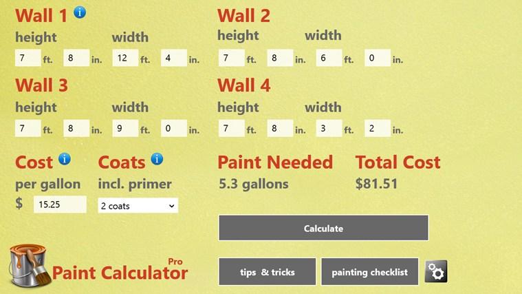 Paint Calculator Pro paint photo