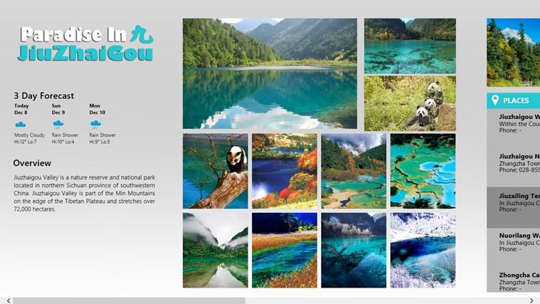 Paradise In Jiuzhaigou 3d shotacon paradise