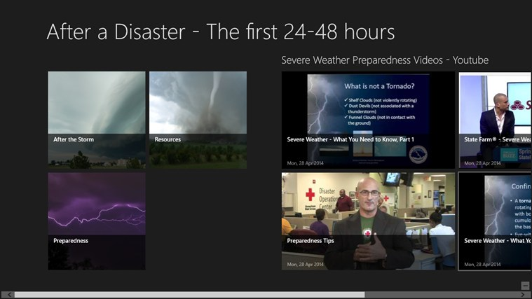 After a Disaster - The first 24-48 hours