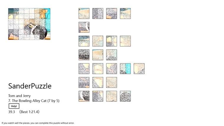 SanderPuzzle - Tom And Jerry puzzle
