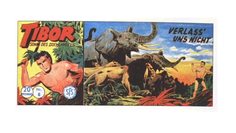Tibor Comic - Band 8