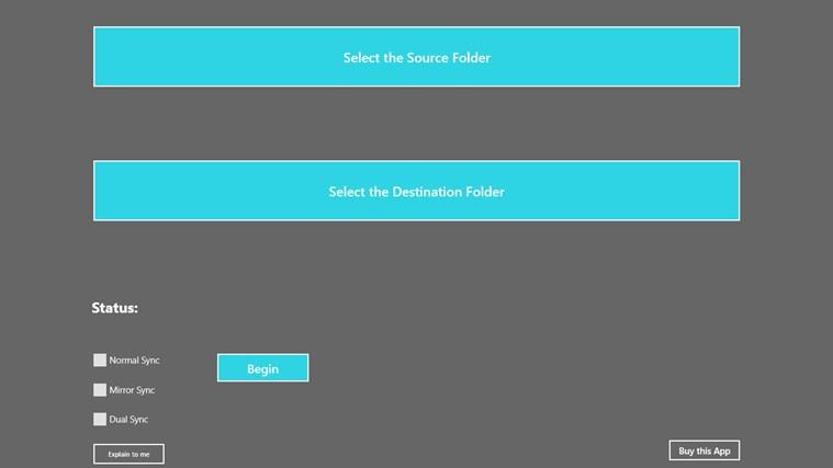 Superbolt Folder Sync destination