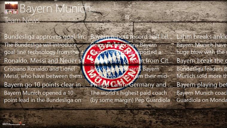 Bayern München Fan Info