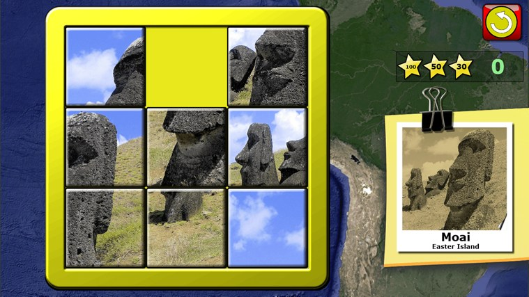 Slide Puzzle World - Mystic Squares, 15 puzzle puzzle