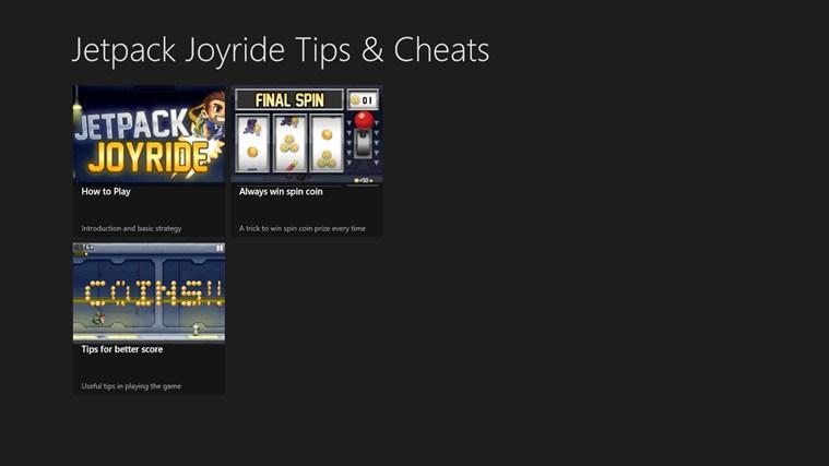 Dating tips and tricks jetpack joyride