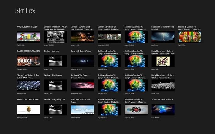 Skrillex videos skrillex youtube